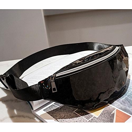 Laser Fanny Pack Hip Waist Pack Belt Pouch Unisex Waist Belt Bag Money Belts Travel Cashier Pouch Sports Purse