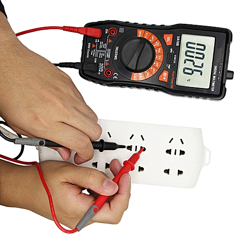 Digital Multimeter AC/DC Voltage Current Resistance Diode Temperature Tester
