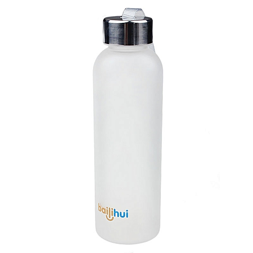 Leak Tight Fruit Juice Sport Portable Travel Bottle Water Cup 600ML WH