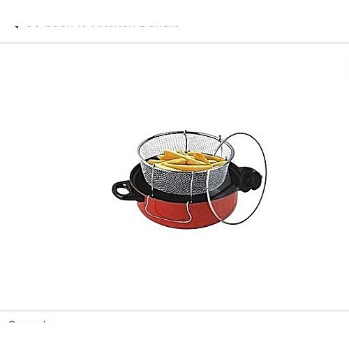 3 Pieces Deep Fryer Sets- 26cm