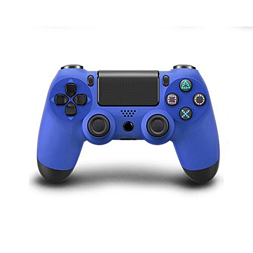 Wireless Bluetooth Game Controller Gamepad For Sony PS4 Color:Blue