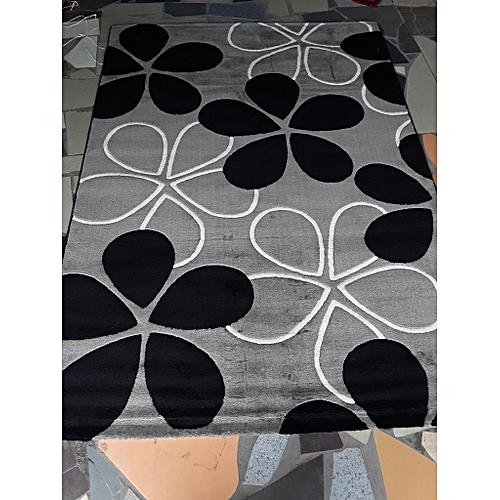 Center Rug (grey Floral ) 3x5