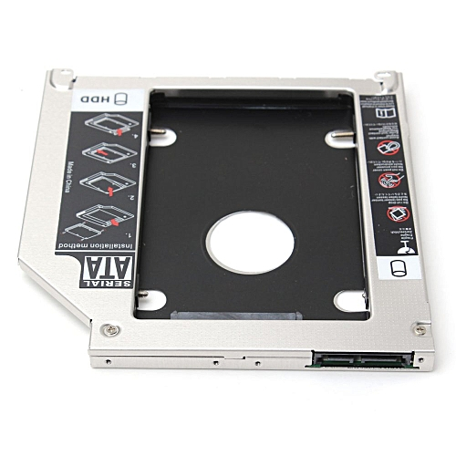 9.5mm SATA 2nd HDD Hard Driver Caddy Bay Tray For Apple Macbook Pro 2011 2009