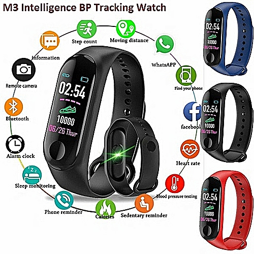 Fitness Tracker 0.96-Inch TFT Display Smartwatch