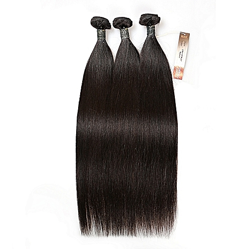 Bliss Emerald Straight 3 In 1 Brazillian Human Hair, 18 Inches.,
