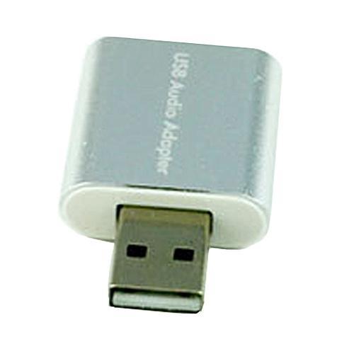 New External USB 2.0 7.1 CH Virtual Audio Sound Card Adapter Converter Notebook