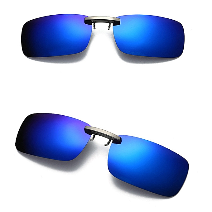 1fc075a6d63 Detachable Night Vision Lens Driving Metal Polarized Clip On Glasses  Sunglasses