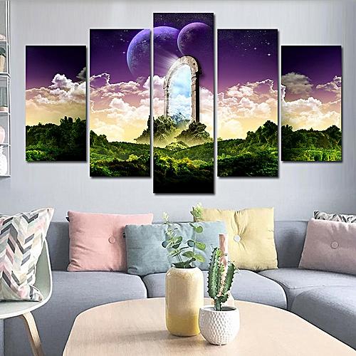 5Pcs Abstract Printing Art Painting Wall