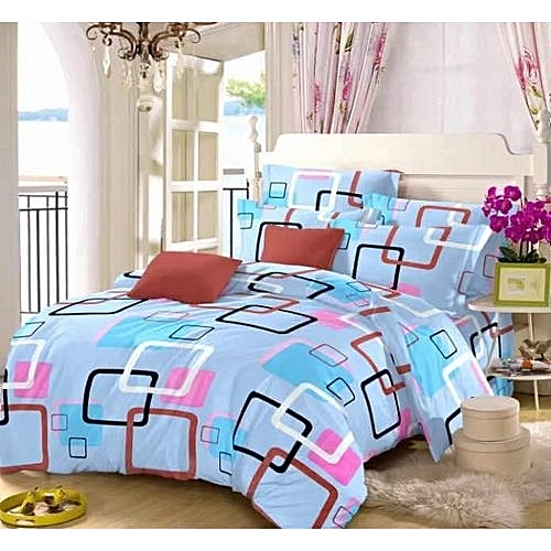 Bedspread With 4 Pillowcases