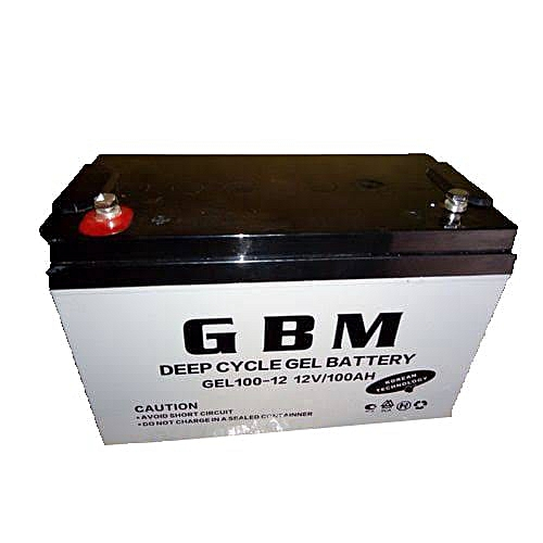 Gbm 12volts 100amps Deep Cycle Solar Inverter Battery