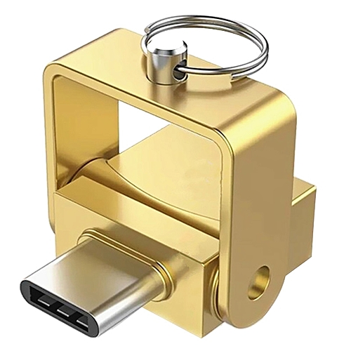 Type-C Card Reader For TF Card -GOLD