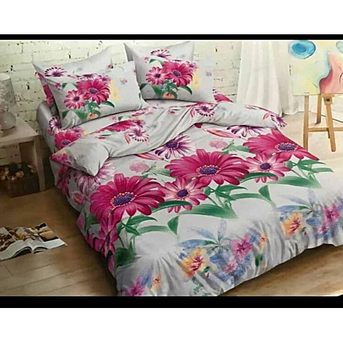 Polish Flowery Bedspreads And Four Pillow Cases