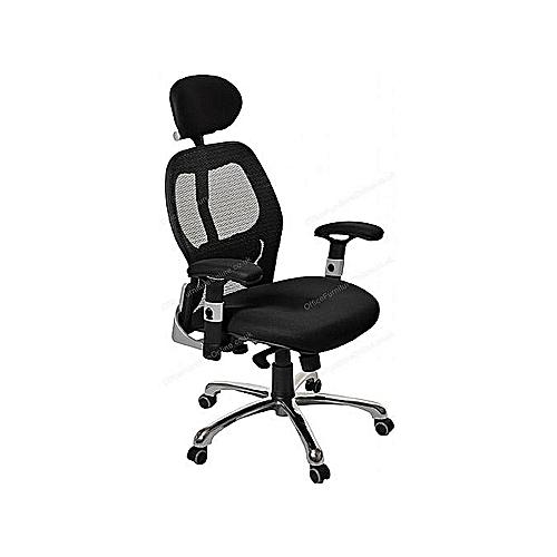 Ergonomic Swivel Office Chair (Lagos Ogun Delivery)