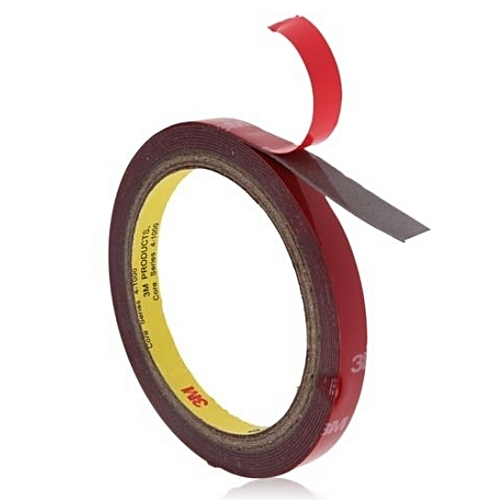 3M Strong Permanent Double Sided Super Sticky Tape Roll For Vehicle 15mm