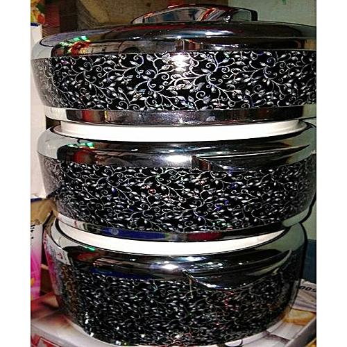 Set Of 3 Pcs Insulated Hot Pot