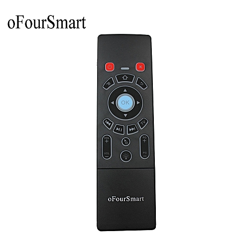 Fly Air Mouse T6-L 2.4GHz Mini Blacklight Keyboard And Touchpad For Android TV Box V 88 Laptop IPTV T6-L Remote Control ASQOB