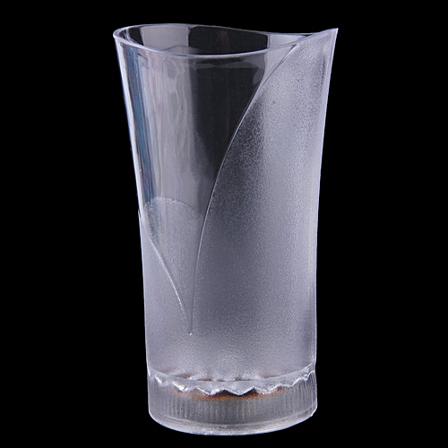 Home-Cool LED Glowing Mug Water Liquid Inductive Light-up Drink Wine Cup Transparent