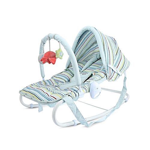 I.BELIBABY Baby Rocking Chair Chaise Newborn Cradle Seat Coax Baby Artifact