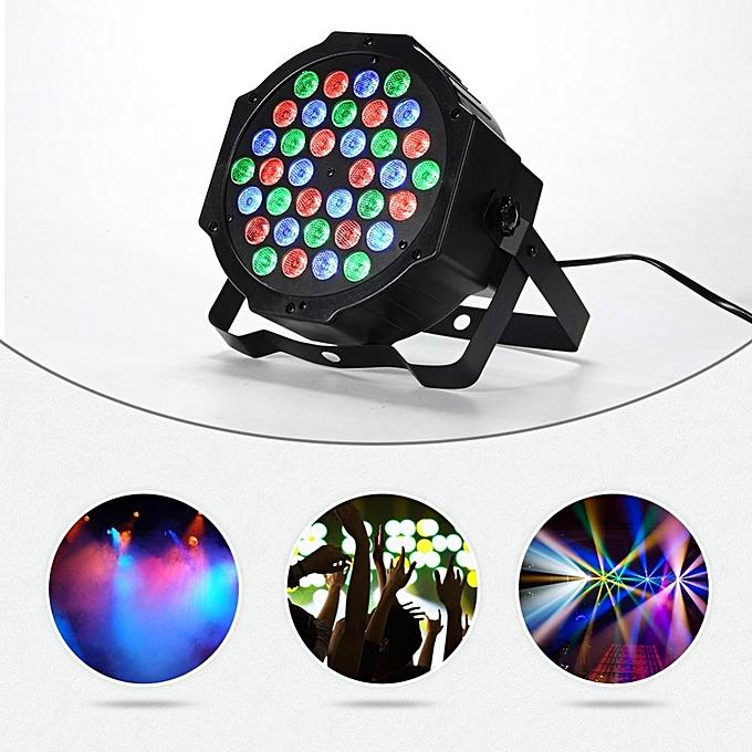 ... 36 LED Par Lights RGB Colorful 7 Lighting Modes Stage Lights Flexible  Remote Control DMX Control ... 33bc5efa8390