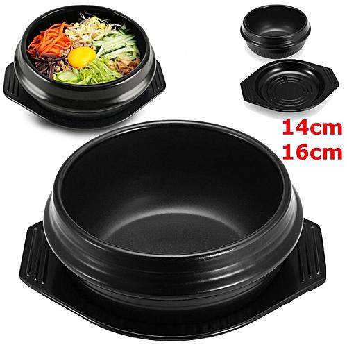16cm Korean DOLSOT With Trivet, Big Sized Stone Bowl, Earthenware, Stone Pot, Jjigae Popular 15 Viewed Per Day