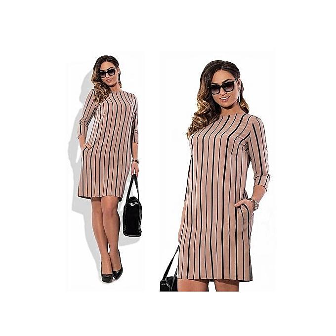 fa12b60e41 Office Pencil Midi Dress Short Sleeve Print Bodycon Dress Women Tunic  Elegant Vestidos Sheath Ladies Dress
