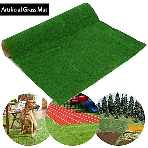 Artificial Model Grass Meadow Turf Mat Layout Flooring Carpet 20x20inch