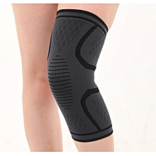1802344618 Sports Knee Pads Three-color Four-way Elastic Non-slip Warm Nylon Knit