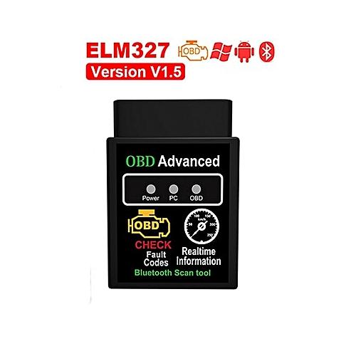 OBD2 ELM327 Bluetooth USB V1.5 Car Diagnostic USB Cable Interface Supports All OBD2 Protocols Window ELM 327 USB OBD Scanner