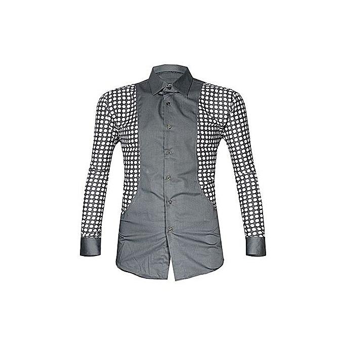 buy popular 085e3 6edbb Men`s Bold Men Shirt - Grey