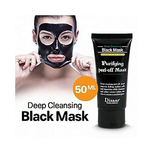 Disaar Black Mask Nose Blackhead Acne Remover Peel Off Facial Mask