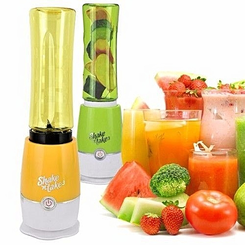 Smoothie Maker And Mini Blender (2 Bottles) - Color May Vary