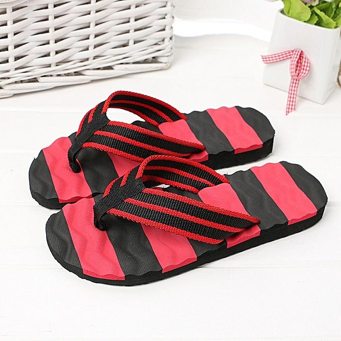d588f15ea69a Fashion Men Summer Sandals Slipper Indoor Outdoor Flip-flops Beach ...