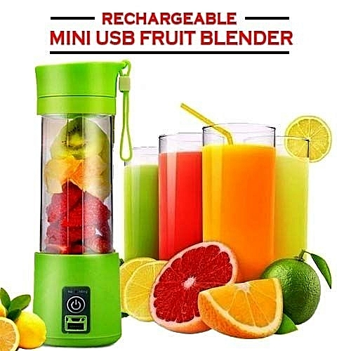 Portable Rechargeable USB Fruit Juicer Mini Blender And Fruit Extractor Squeezer