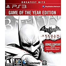Batman Arkham City (Game Of The Year Edition), used for sale  Nigeria