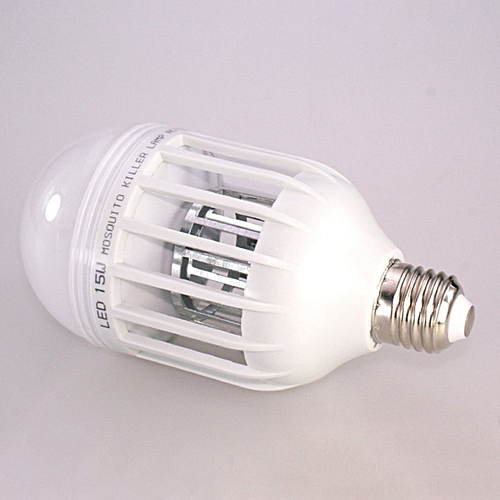 Mosquito Killer Bulb Home Use Repellent Fly Bug Insect Night Lamp
