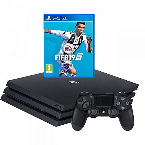 Ps4 Pro Console 1TB With Fifa 19 Bundle