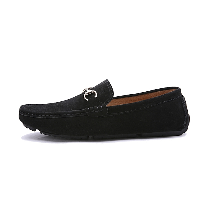 80f4aee783bb2 Fashion Men Suede Loafers Shoes-Black | Jumia NG