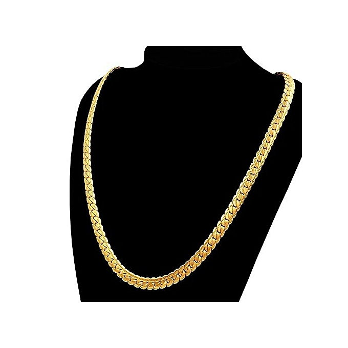 fashion punk gold snake chain necklace jumia com ng