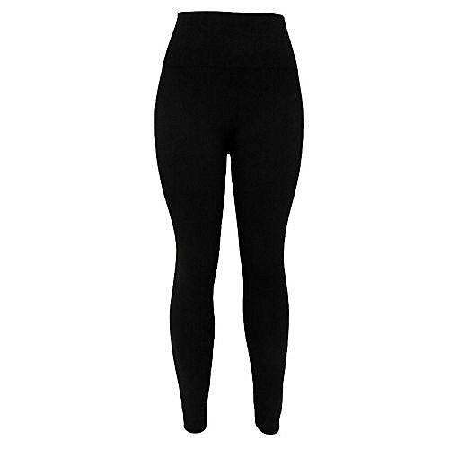 Thick Leggings For Women-Black