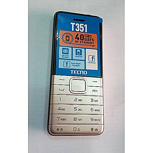 T351 Dual Sim With Camera And Torch Light 1900MAH