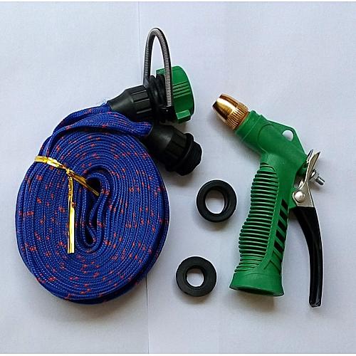 20M High Pressure Garden Car Hose Spray Washing Water Gun Sprayer Cleaner Nozzle(Red)