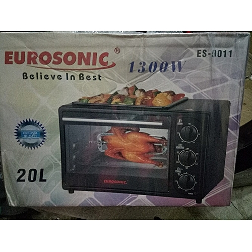 Electric Oven,Grill And Barbecue - 20L