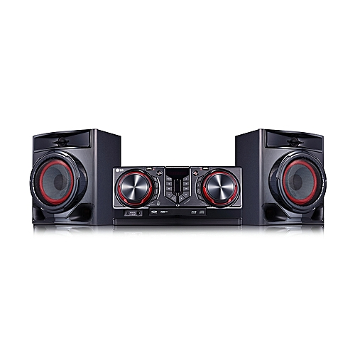 (Reduced Shipping Fee) Bluetooth AUD Hi-Fi System-CJ-44 - Black
