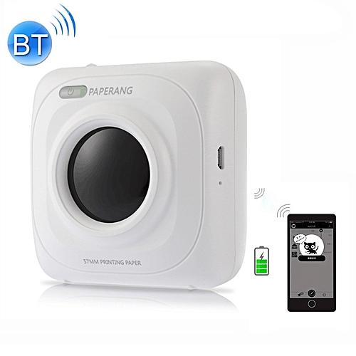 PAPERANG P1 Portable Bluetooth Printer Thermal Photo Phone Wireless Connection Printer - White