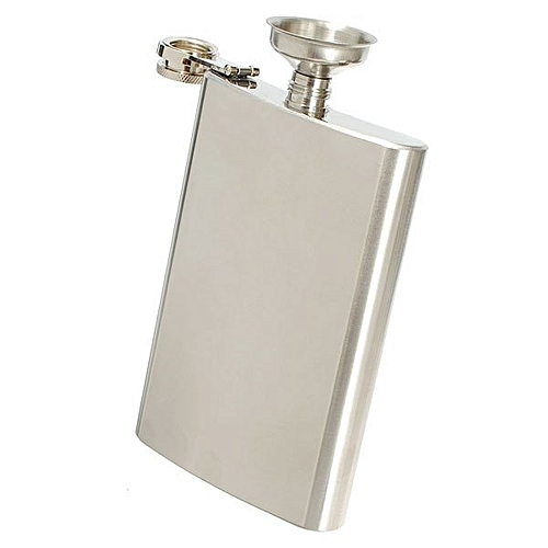 10oz Liquor Alcohol Hip Whiskey Flask With Matching With Funnel