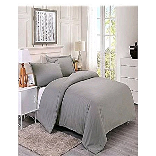 Duvet Cover With Pillowcases - Grey