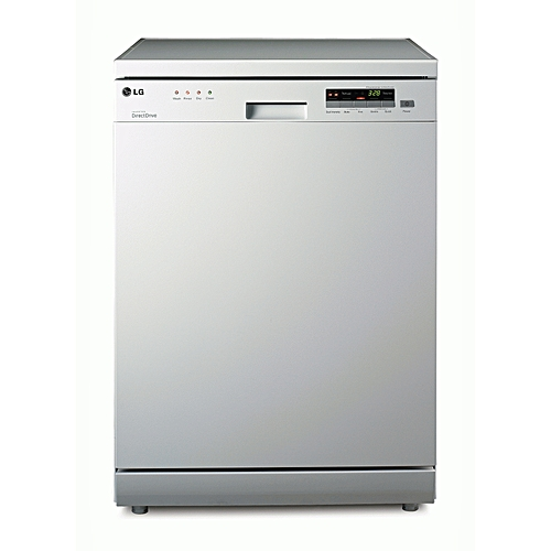 14 Place Settings /5 Spray Direction Dishwasher D1452 White