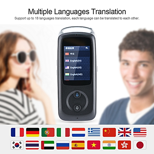 Smart Real Time WIFI Voice Translator Support 18 Languages Multilingual Translator For Travel Business Meeting And Learning WAAAA