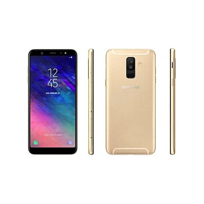 Galaxy A6 Plus (2018), 6-inch 3GB RAM, 32GB ROM, Android 8 0 (Oreo) - Gold
