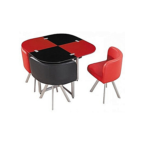 Restaurant Dining Set With 4 Chairs (Lagos Delivery Only)